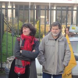 Françoise Vercheres (PG- FdG) et Julien Duval (CP)