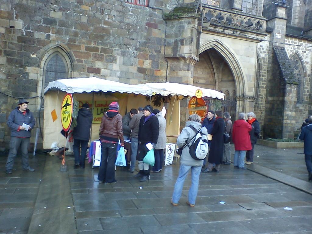 La cabane sur le marché de Noel 15 dec 2012