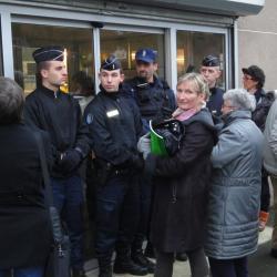 Binic accueil de Mme Najat Vallaud Belkacem
