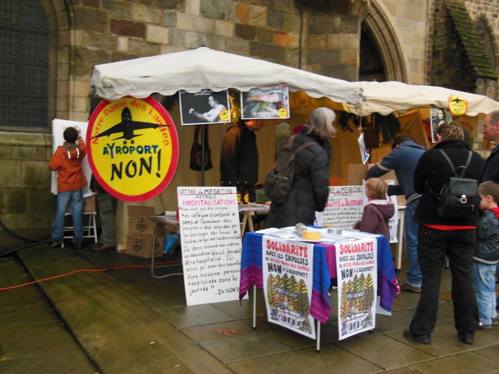 La cabane sur le marché de Noel 22 dec 2012