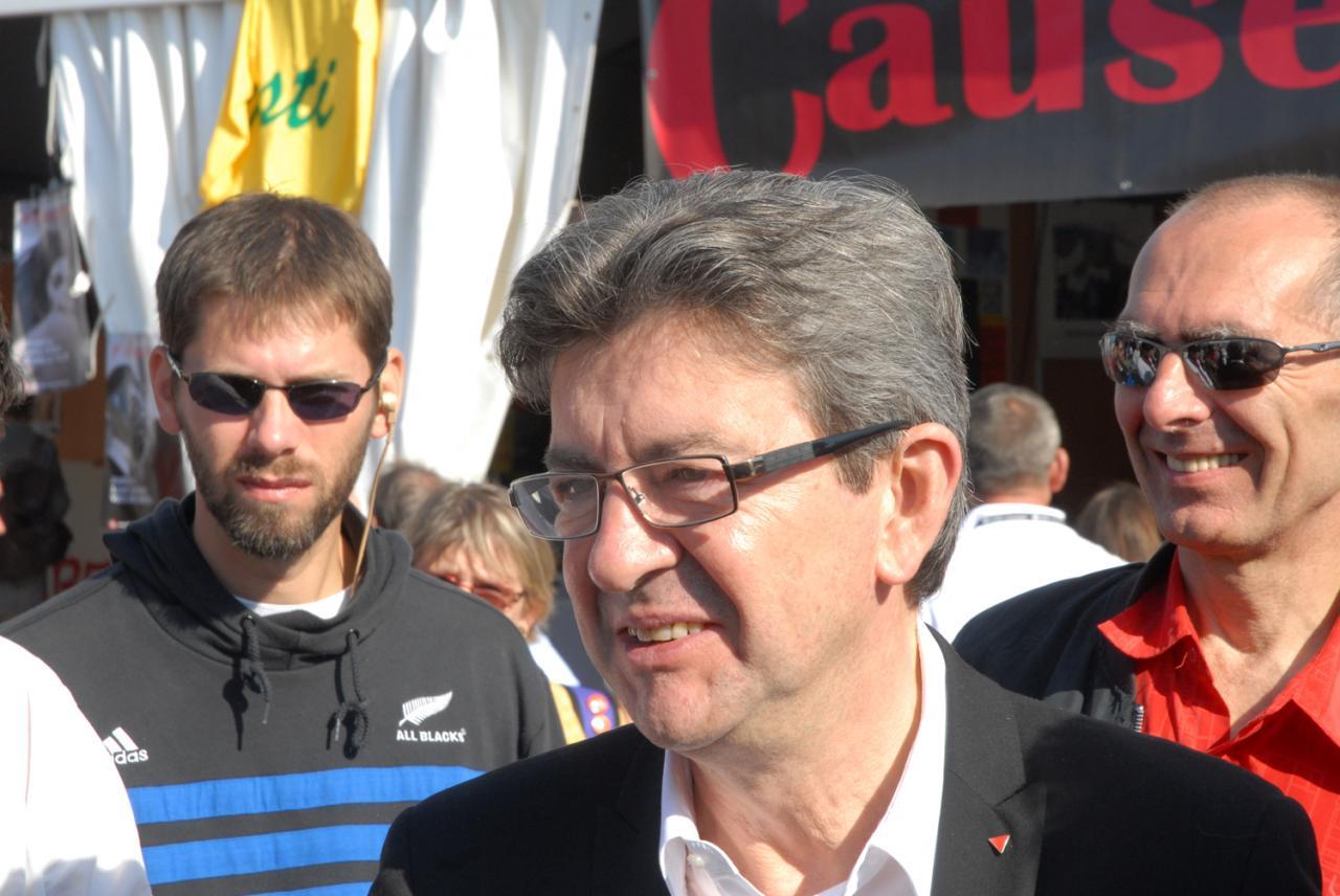 huma 2012 JL Mélenchon