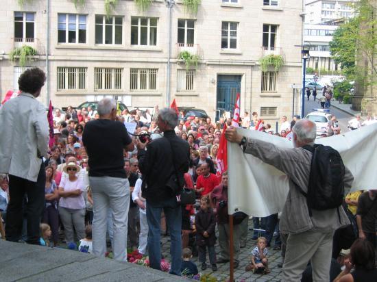 Saint-Brieuc (place des droits de l'Homme)