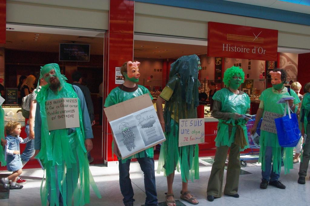 Marée verte humaine 2 juin 2012