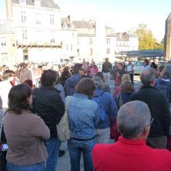 Rassemblement devant la préfecture