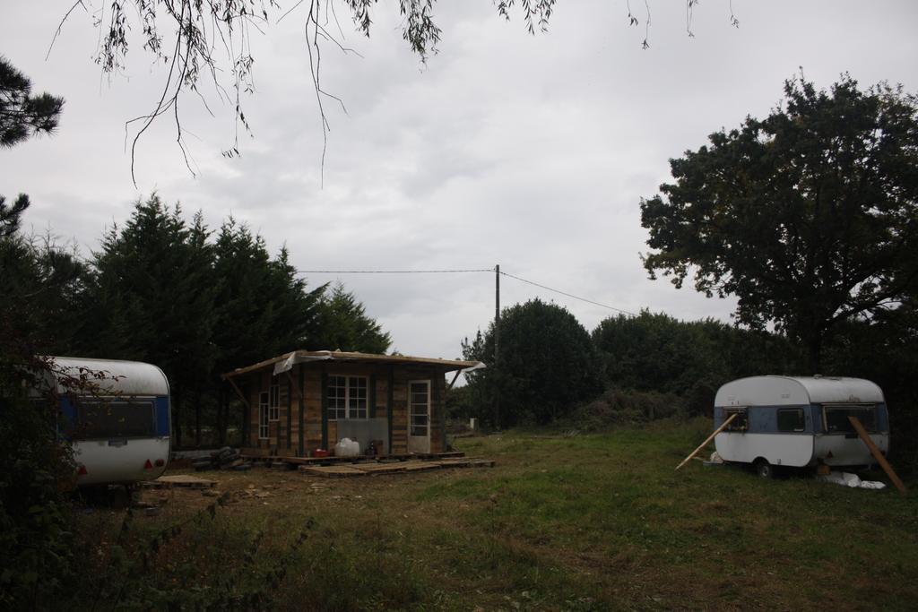 La cabane dans la ZAD
