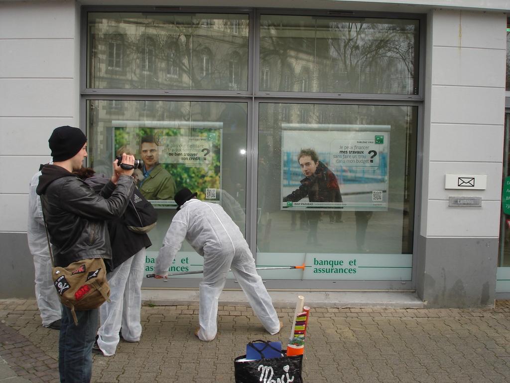 Nettoyage des banques