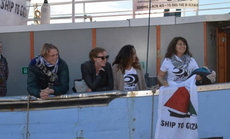 Un bateau de femmes pour briser le blocus de Gaza fait escale à Ajaccio