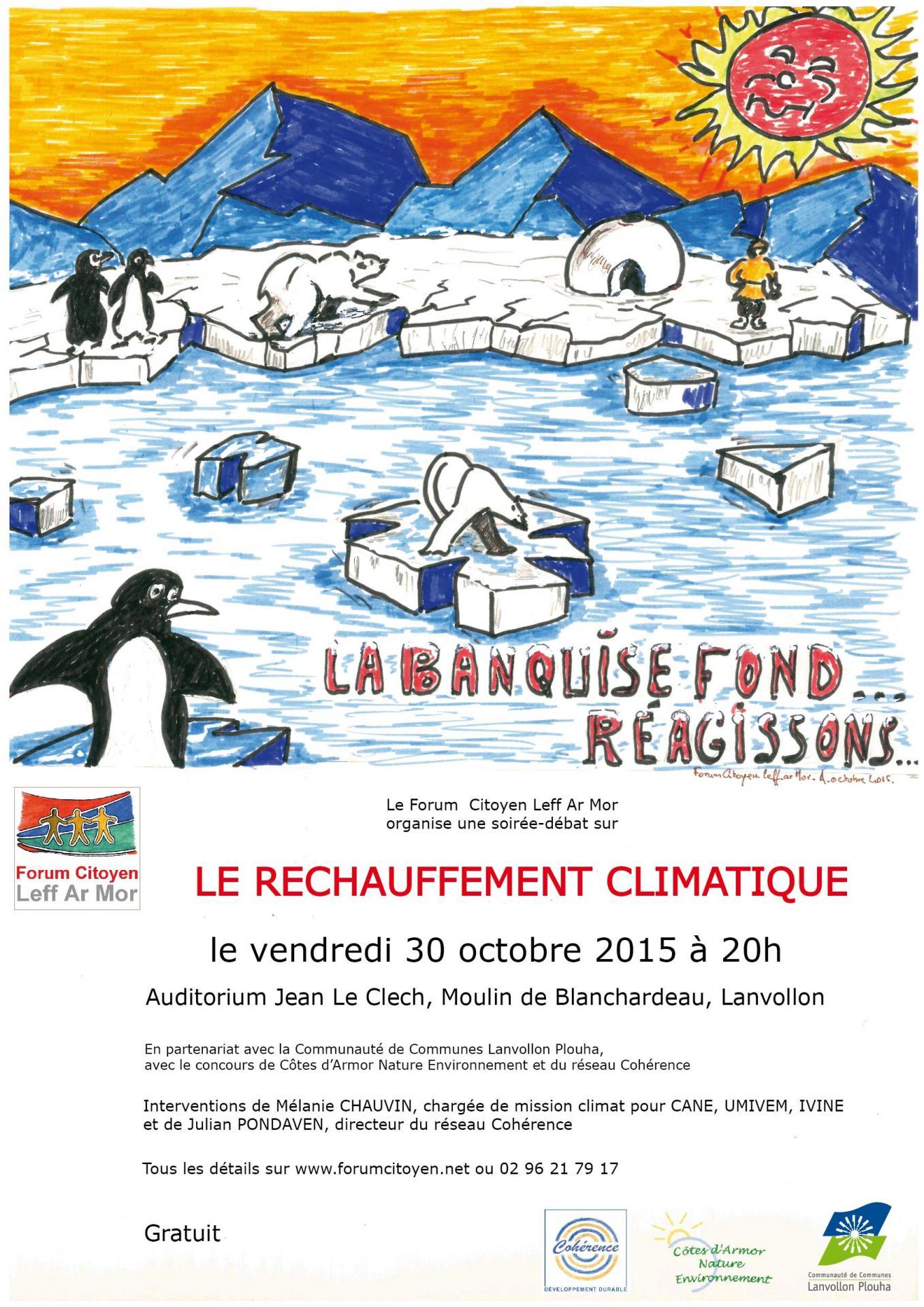 Affiche officielle soiree climat