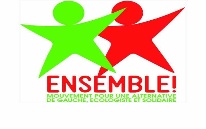 Ensemble ! appelle à soutenir la candidature de Jean-Luc Mélenchon (lire ici le communiqué de l'EAN)