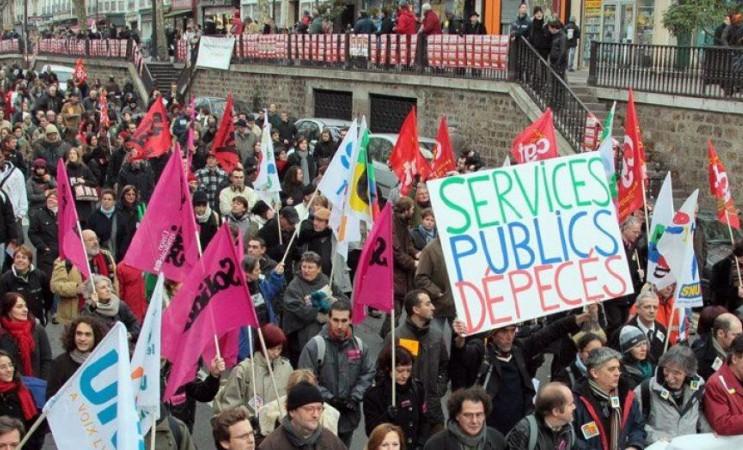 Défendons tous les services publics ! Solidarité avec les cheminots et les cheminotes !