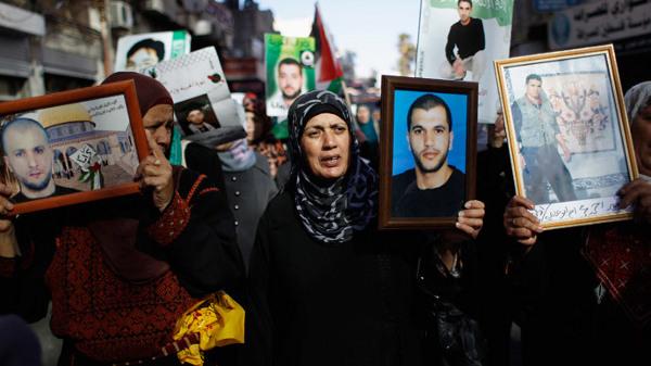 Greve prisonniers palestiniens
