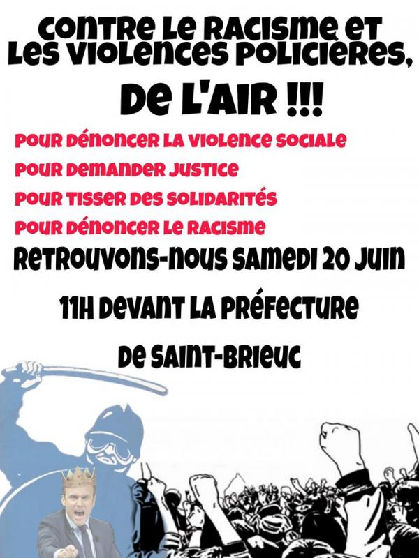 Manif 20 juin contre le racisme et violences policieres 1