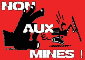 Non aux mines
