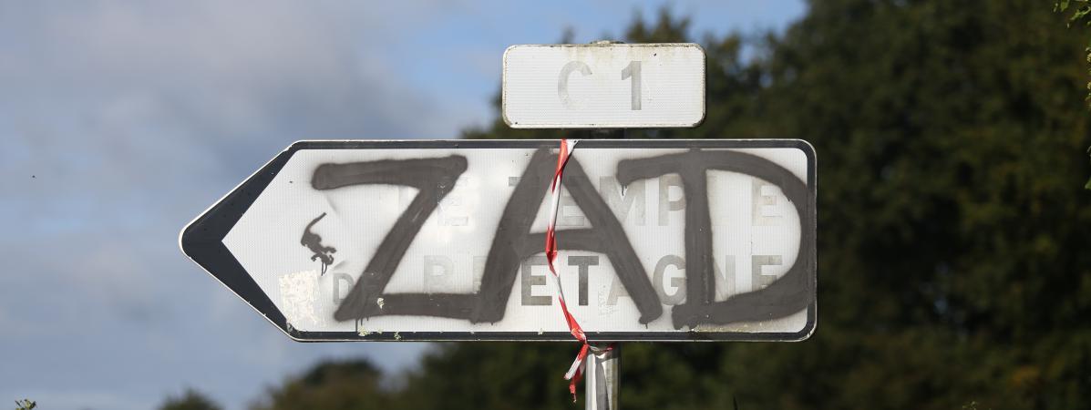 Le gouvernement renonce à évacuer la ZAD de Notre-Dame-des-Landes